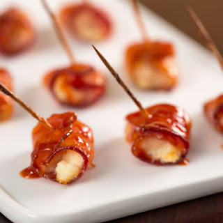 Bacon-Wrapped Buffalo Chicken Bites
