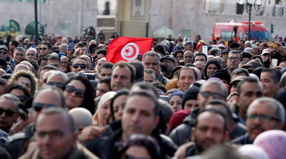Tunisian protests over inequality mean the honeymoon is over