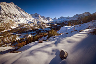 Photo: Late at the Little Lakes Valley