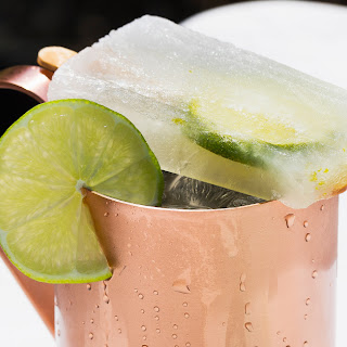 Moscow Mule Ice Pops Recipe