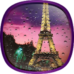 Rainy Paris Live Wallpaper Icon