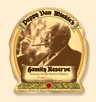 Logo for Pappy Van Winkle Family Reserve 15