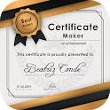 Certificate Maker - Certificate Editor With Design icon