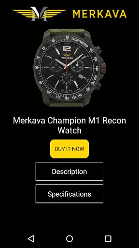 Merkava Watches