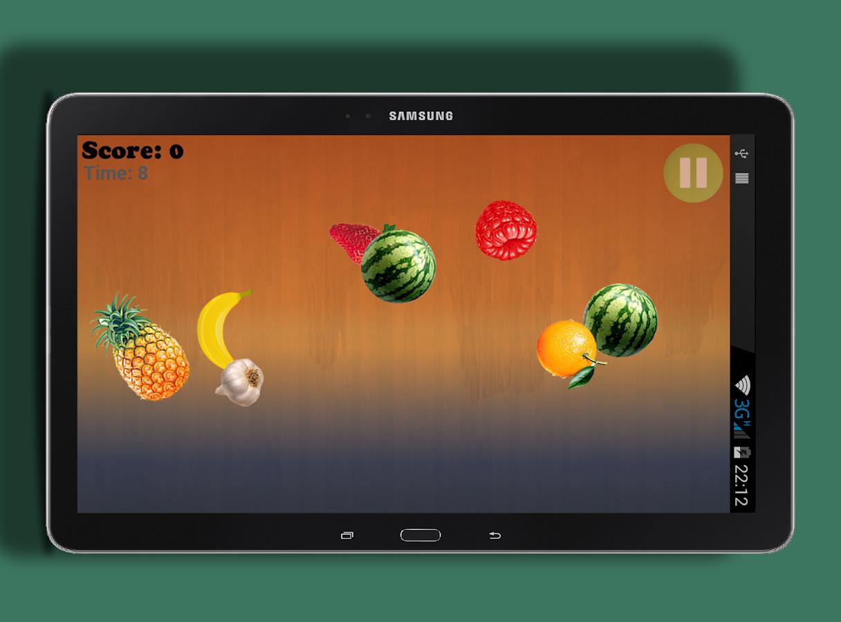 Cut fruits game - Only Fruits Cut Game Screenshot