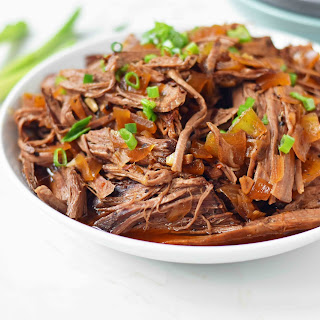 Slow Cooker Honey Balsamic Beef.