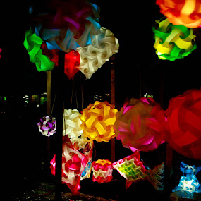 Thai Lights  by Ashley Vanley - Artistic Objects Other Objects