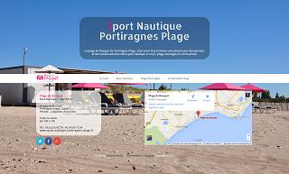 site Sport Nautique Portiragnes Plage