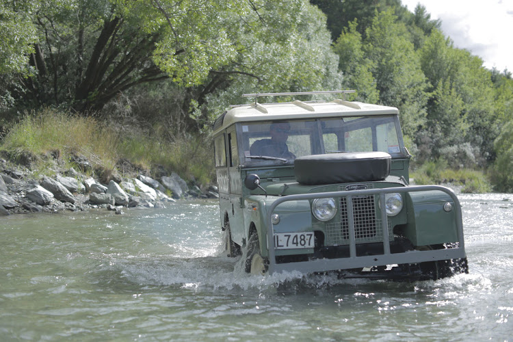 The original Land Rover is renowned for its go-anywhere ability.