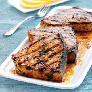 Moroccan Grilled Swordfish.