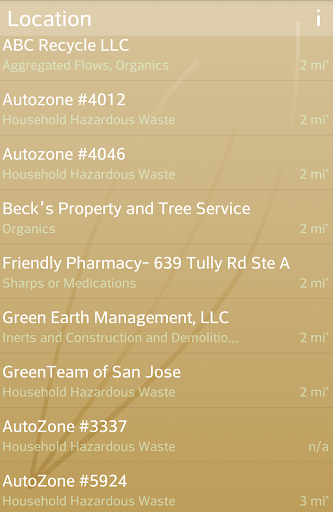 Recycle Locator California