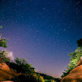 Matheran, India by Ketan Kunte - Landscapes Starscapes ( stars, india )