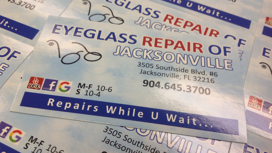 Eyeglass Repair Of Jacksonville Eyeglass Sunglass Repair