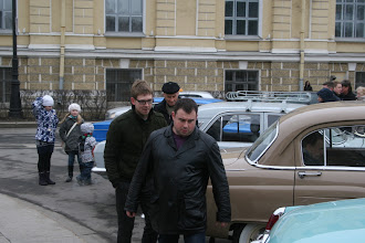 Photo: fellow Volga owner and car collector