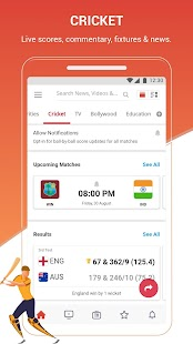 Dailyhunt (Newshunt)- Cricket, News,Videos Screenshot
