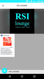 RSI LOUNGE - náhled