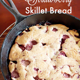 Strawberry Skillet Bread