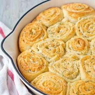 Parmesan Rosemary Dinner Rolls Recipe