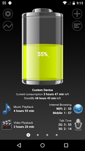 Battery HD screenshot 1