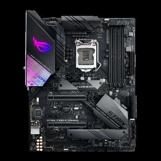 Asus ROG Strix Z390, best budget-friendly motherboard for i9 9900k