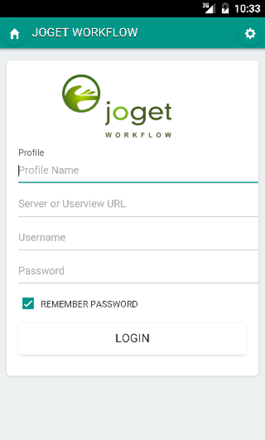 Joget Workflow Mobile- screenshot