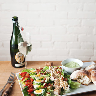 Summer Cobb Salad with Green Goddess Dressing