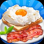 Breakfast Maker - Make Cloud Egg, Bacon & Milk Icon