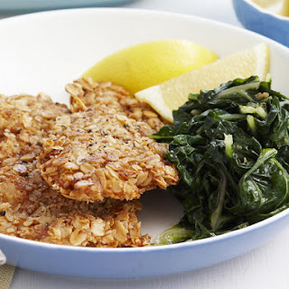 Fried Chicken with Oatmeal Crust