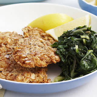 Fried Chicken with Oatmeal Crust.