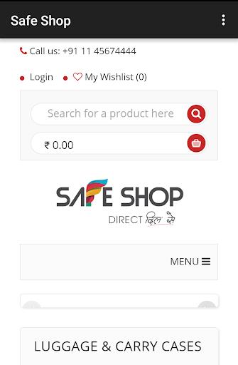 Safe Shop screenshot 1