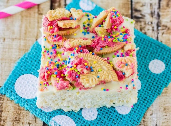 Fruit Punch Rice Krispie Treats Recipe