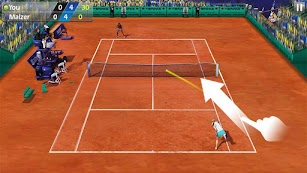 3D Tennis screenshot for Android