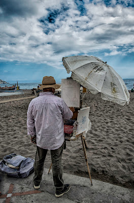 Creare...in spiaggia... di Gianva