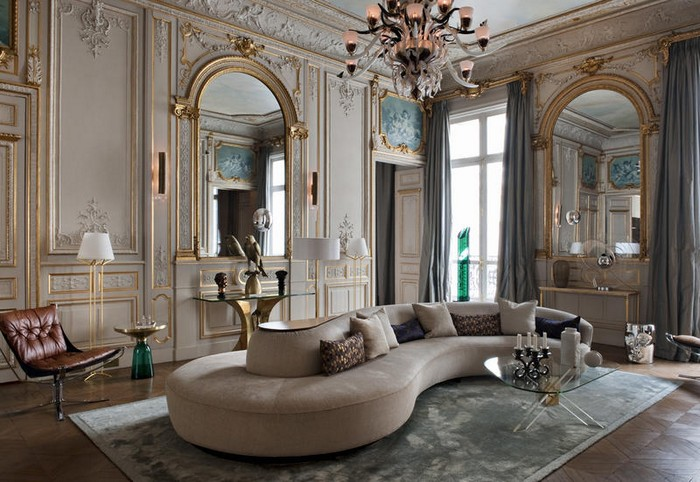 Gaya desain interior ala Prancis – source: pinterest.com