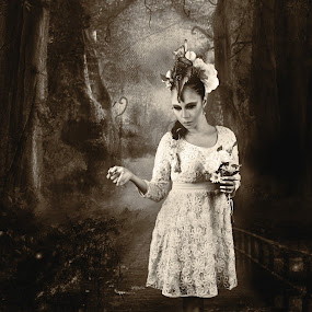 Dead Spring by Isa 'Gunners' - Digital Art People ( canon, model, woman, art, beauty )