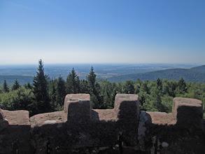 Photo: la tour du Wintersberg, panorama, panorama
