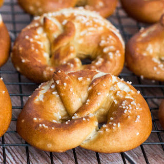 Traditional Bavarian Pretzels