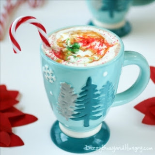 Spiked Butterscotch Hot Chocolate.