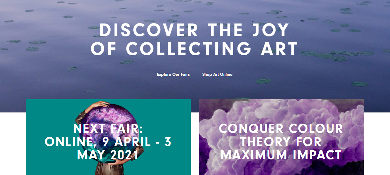 Affordable Art Fair want to expand their offline success with art fairs to an online marketplace for contemporary art