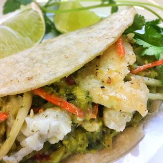 Sassy Slaw Fish Tacos.