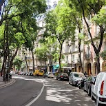 most beautiful street I found in Paris: Rue Caulaincourt in Paris, Paris - Ile-de-France, France
