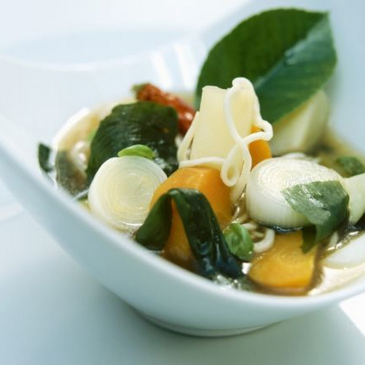 Chinese Tofu and Vegetable Soup