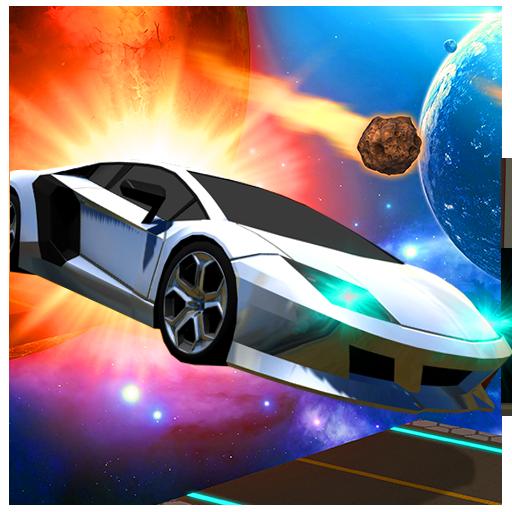 Amazing Car Driving Simulator: Space Tracks