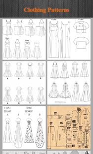 Oblečení vzory - náhled