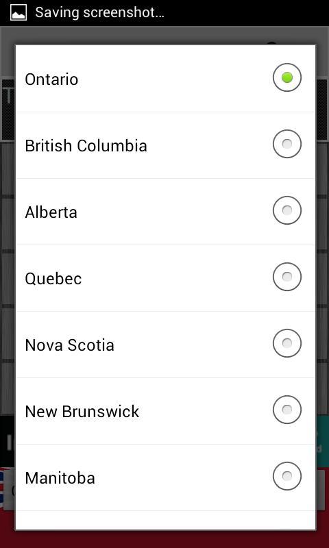 Скриншот Canadian Tax