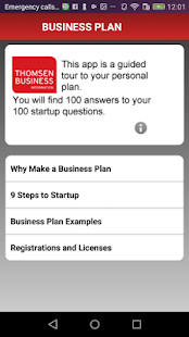Business Plan Information And Startup Templates Android Apps On - Business plan template app