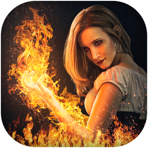 Fire Photo Effects & Editor