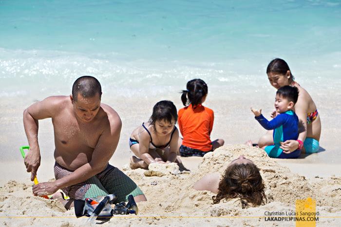 Puka Beach Family Boracay