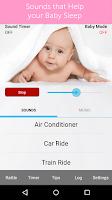 Screenshot of White Noise Baby