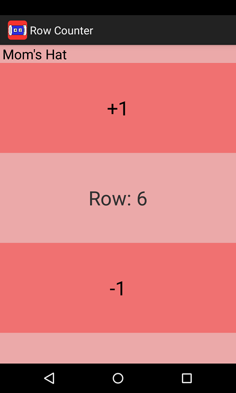 Knitting Row Counter App Android : Knitting row counter android apps on google play